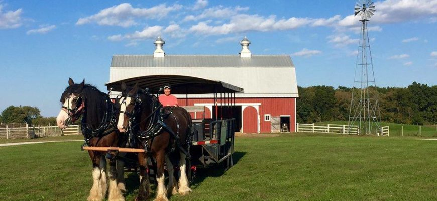 Trolley Rides on The Farm at Prophetstown